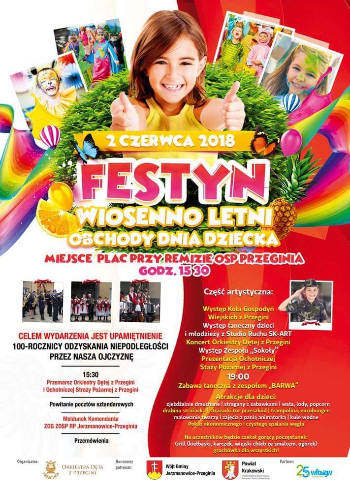 Festyn Wiosenno-Letni / Obchody Dnia Dziecka @ Przeginia | małopolskie | Polska