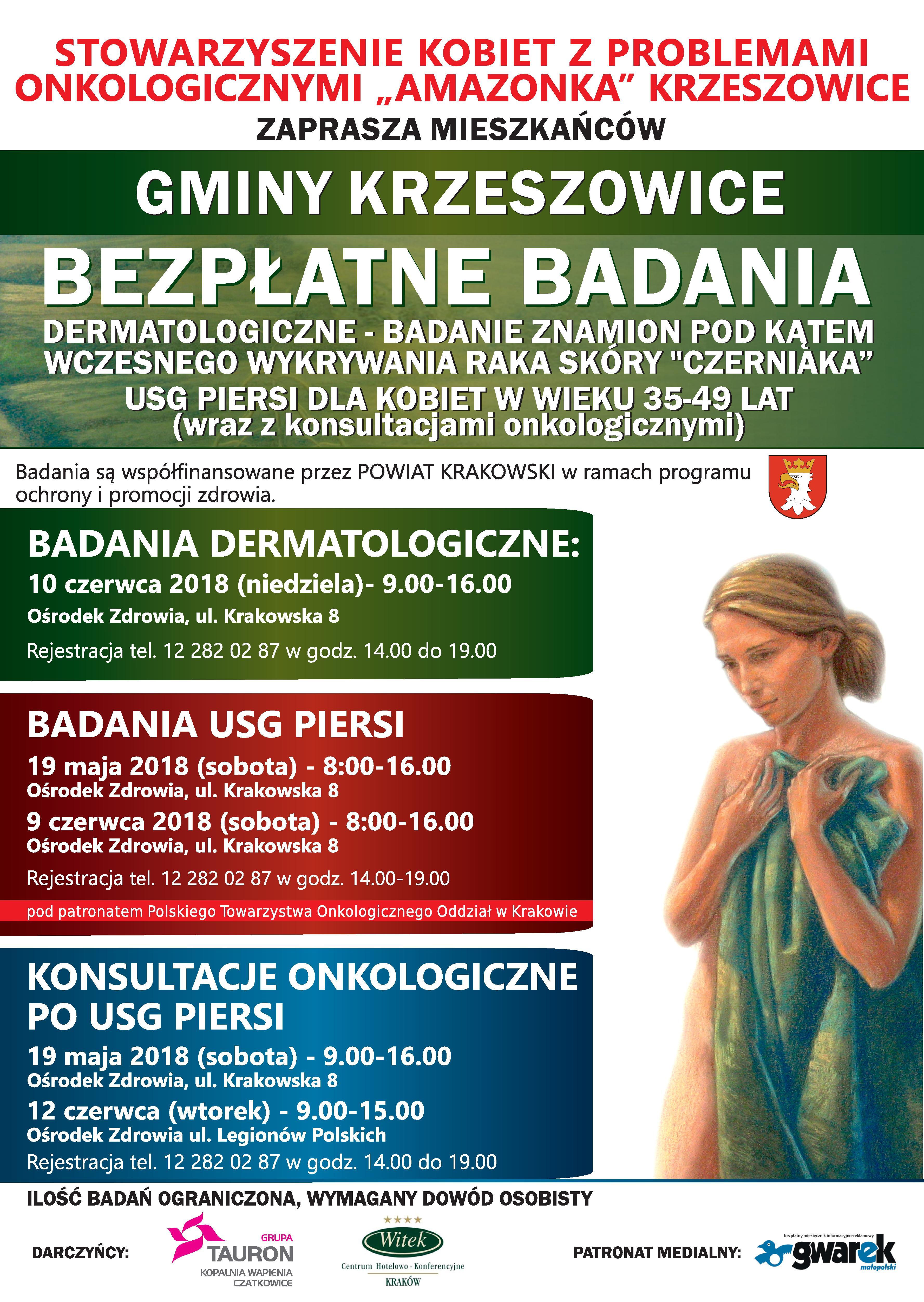Plakat Krzeszowice