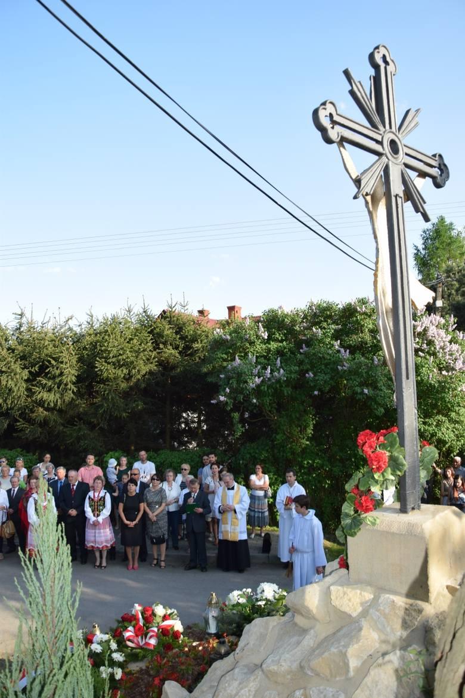 Uroczystości 3 maja w Ujeździe