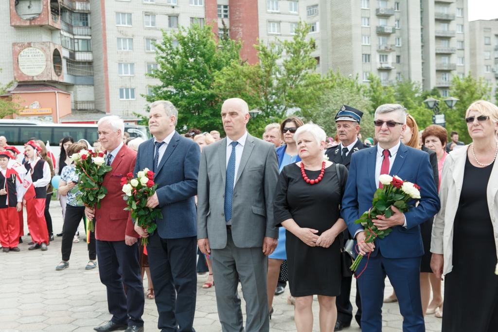 Wizyta delegacji powiatu krakowskiego w Nowym Rozdole na Ukrainie