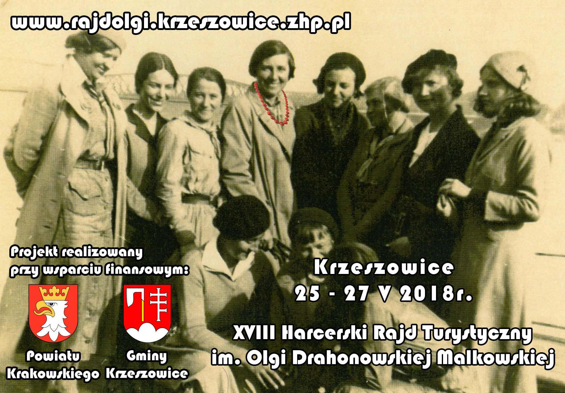 XVIII Harcerski Rajd Turystyczny im. Olgi Drahonowskiej-Małkowskiej @ Gmina Krzeszowice | Krzeszowice | małopolskie | Polska