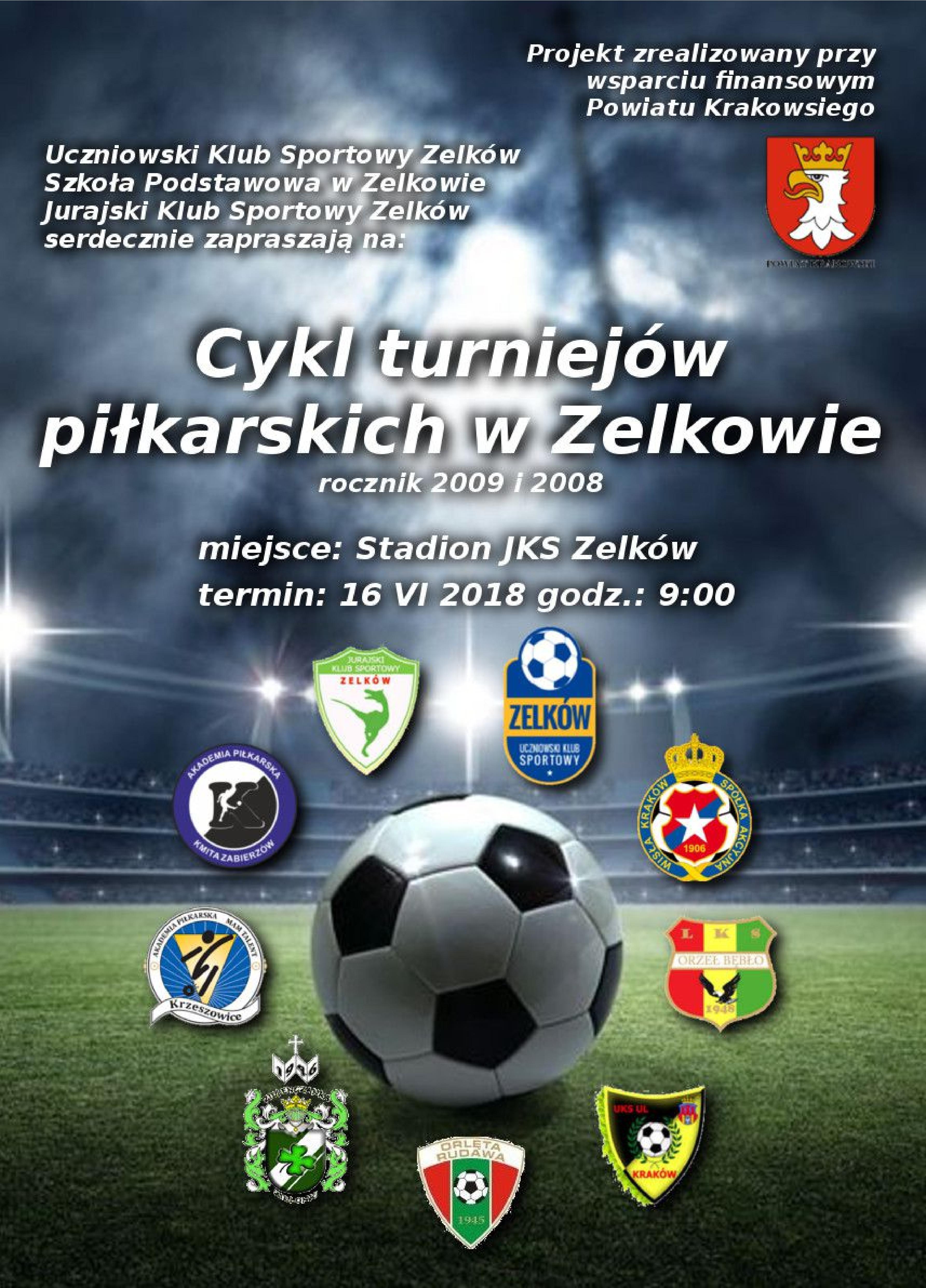 Cykl turniejów piłkarskich w Zelkowie @ Stadion JKS Zelków | Zelków | małopolskie | Polska
