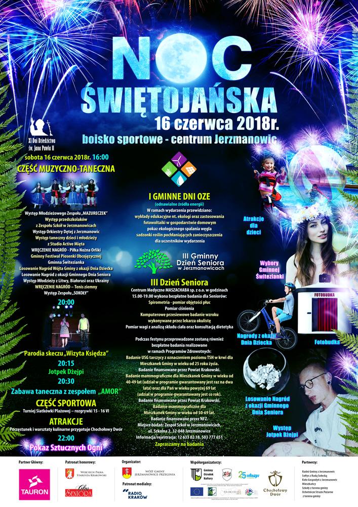 Noc Świętojańska @ Boisko sportowe | Jerzmanowice | małopolskie | Polska