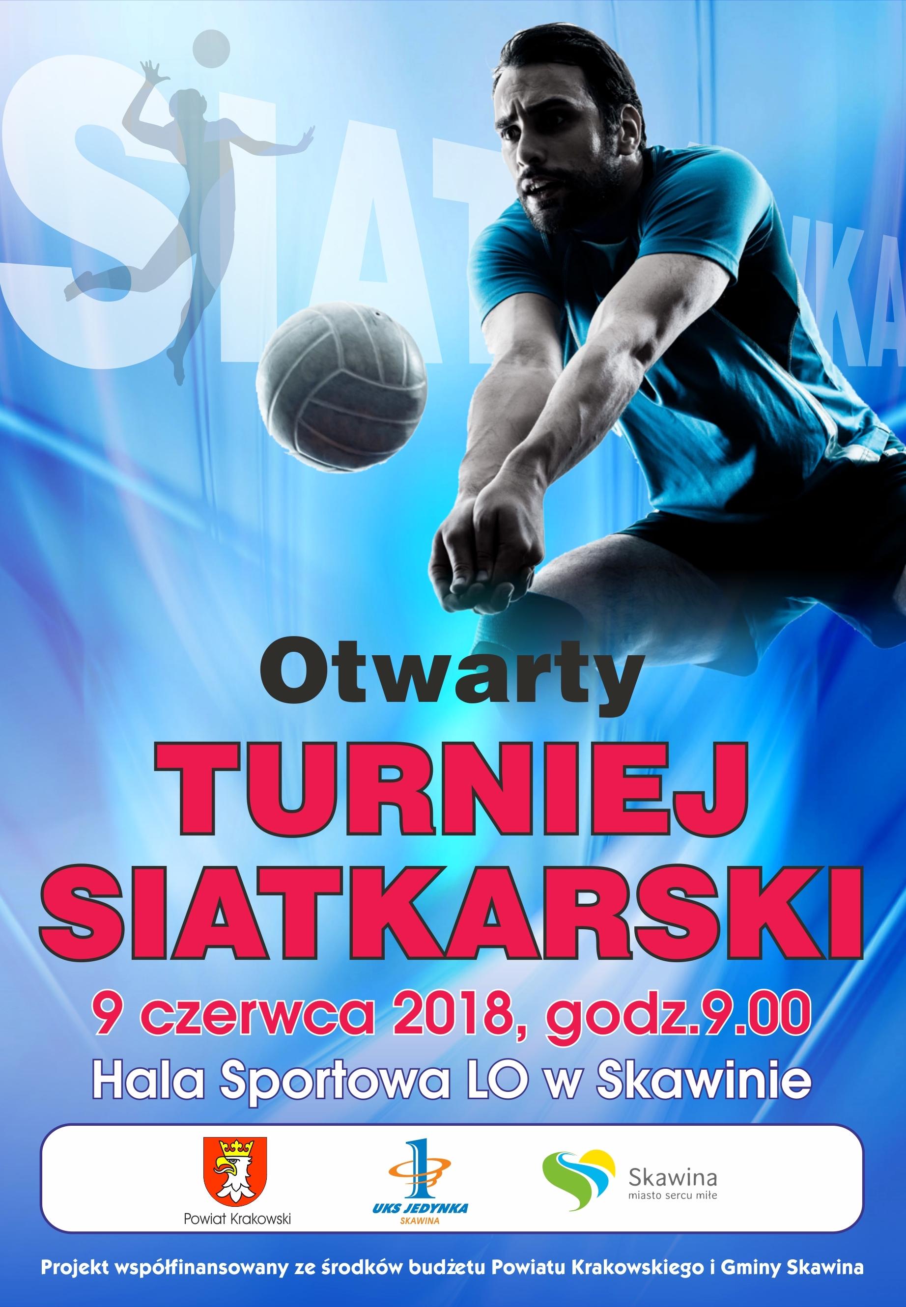 Otwarty Turniej Siatkarski @ Hala Sportowa LO w Skawinie | Skawina | małopolskie | Polska