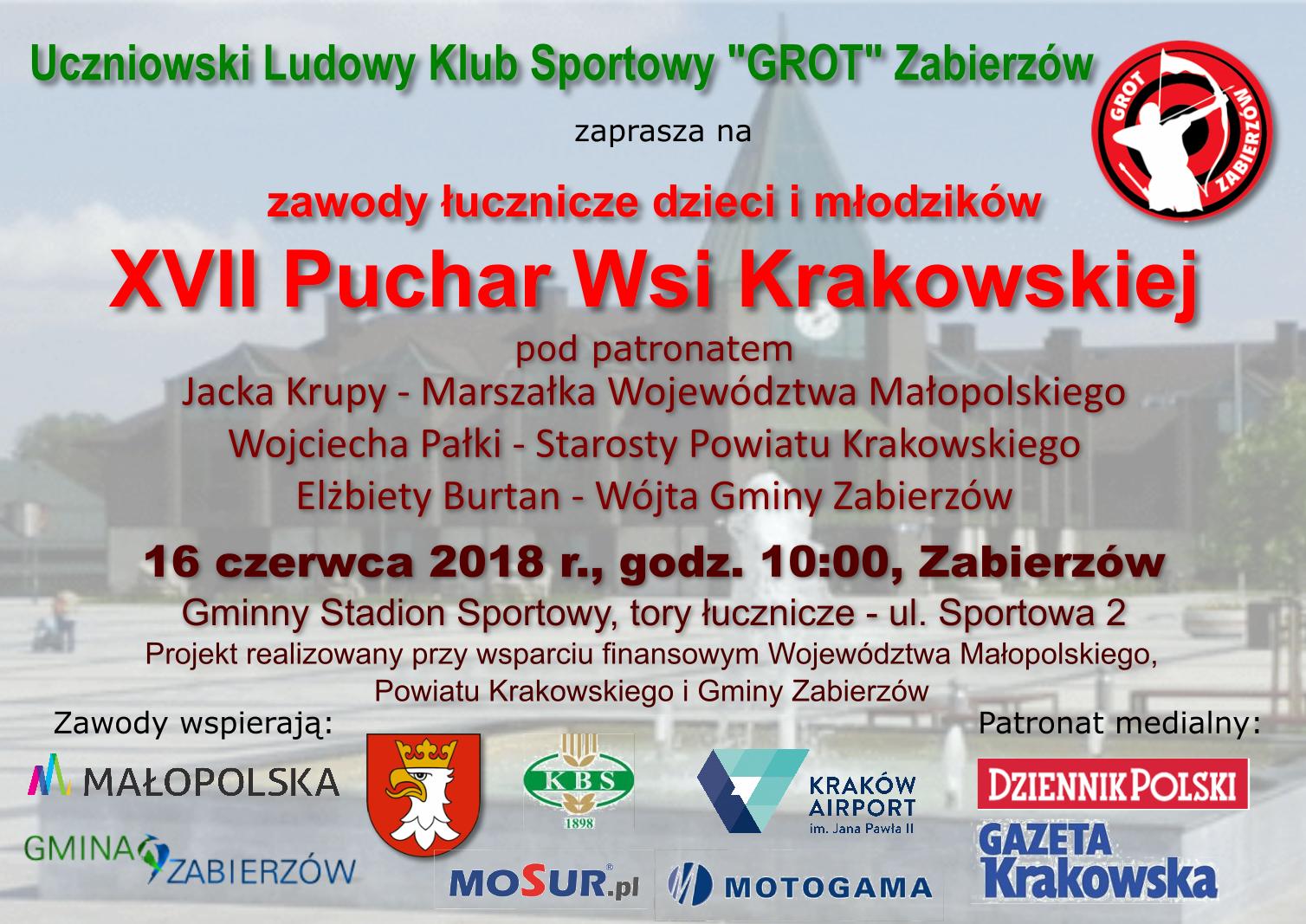 XVII Puchar Wsi Krakowskiej @ Gminny Stadion Sportowy | Zabierzów | małopolskie | Polska