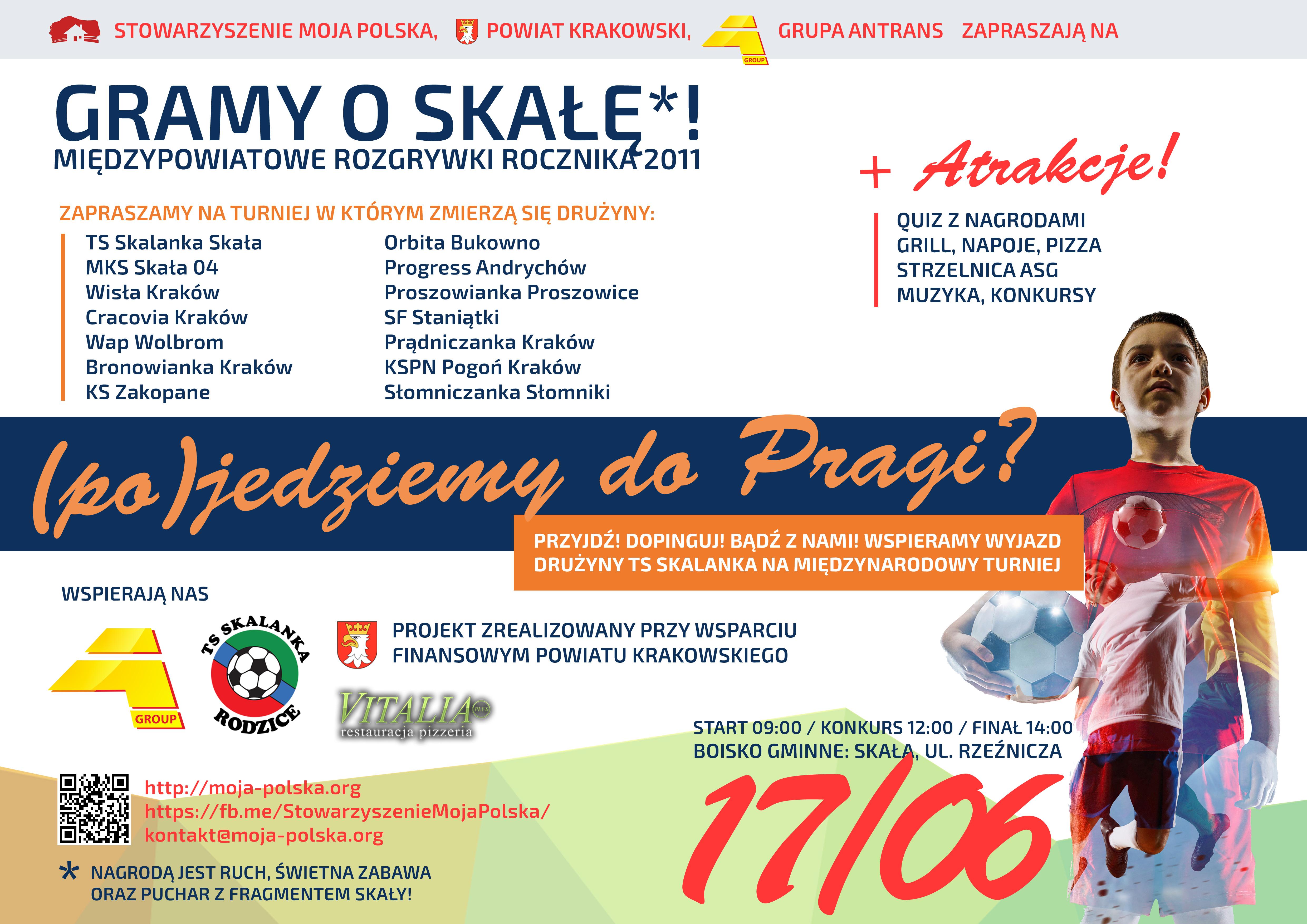 Turniej Gramy o Skałę @ Boisko gminne | Skała | małopolskie | Polska