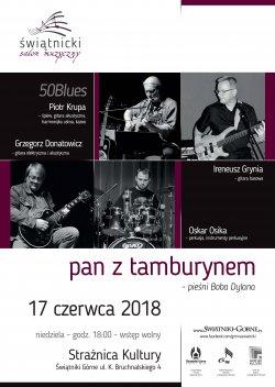 pan z tamburynem - pieśni Boba Dylana @ Strażnica Kultury | Świątniki Górne | małopolskie | Polska