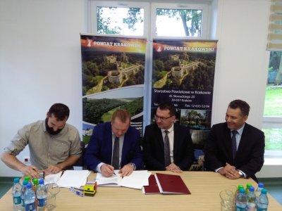 Przebudowa drogi powiatowej nr 2141K w gminie Słomniki