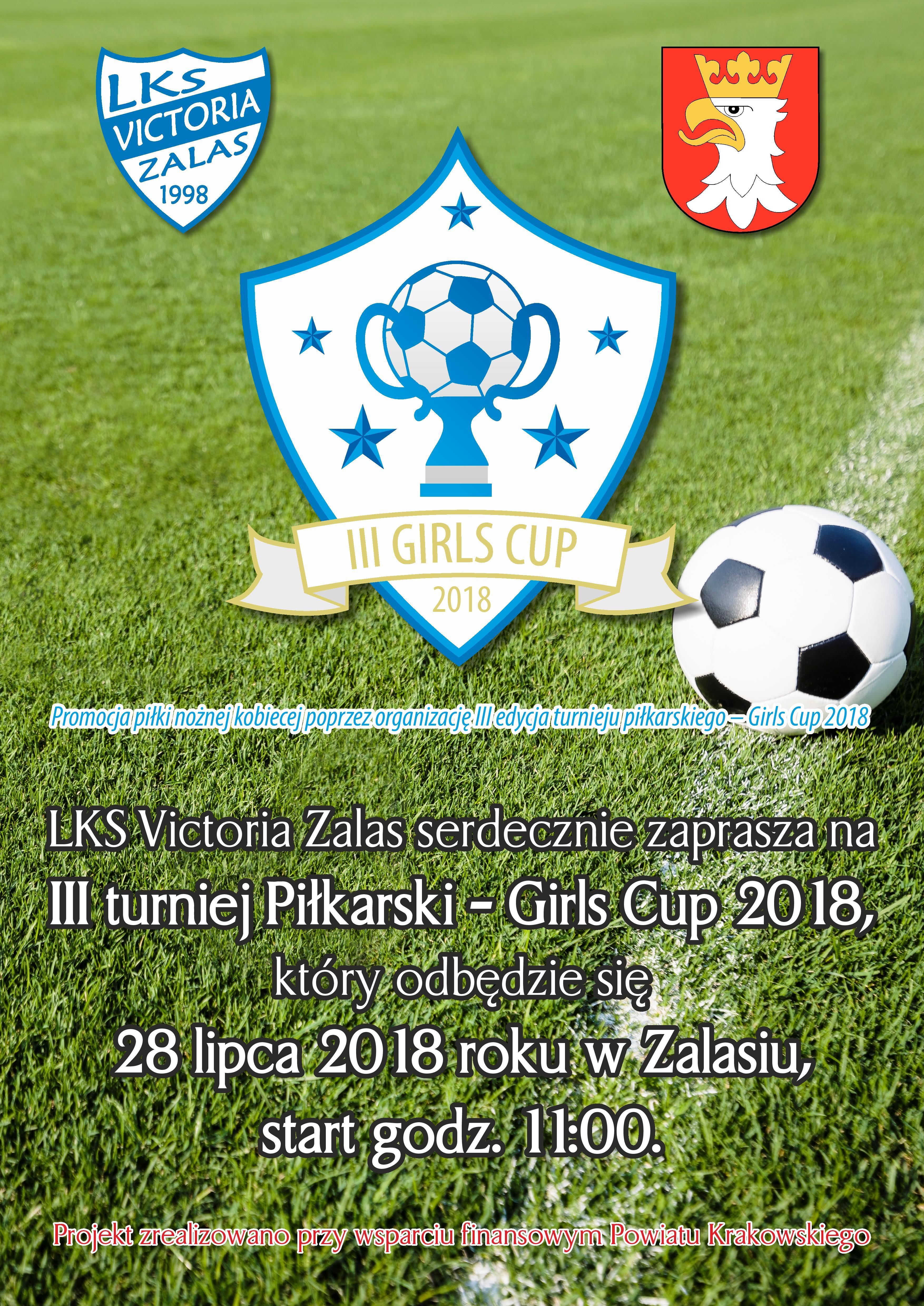 III Turniej Piłkarski - Girls Cup 2018 @ Zalas | małopolskie | Polska