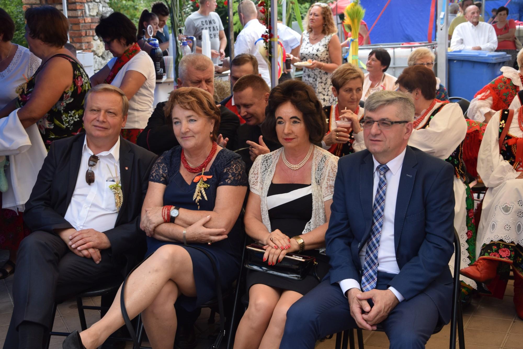 Dożynki gminy Zabierzów w Bolechowicach