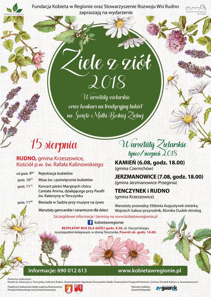 ZIELE Z ZIÓŁ 2018 @ Kościół pw. św. Rafała Kalinowskiego | Rudno | małopolskie | Polska