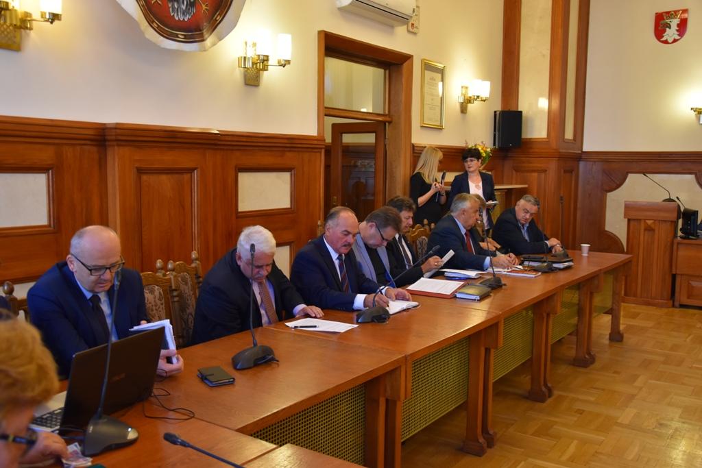 XLVI zwyczajna sesja Rady Powiatu w Krakowie