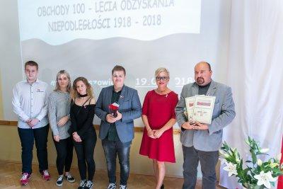 Uroczystości Niepodległościowe w LO Krzeszowice