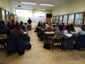Spotkanie uczniów ZSRCKU w Czernichowie z misjonarzem