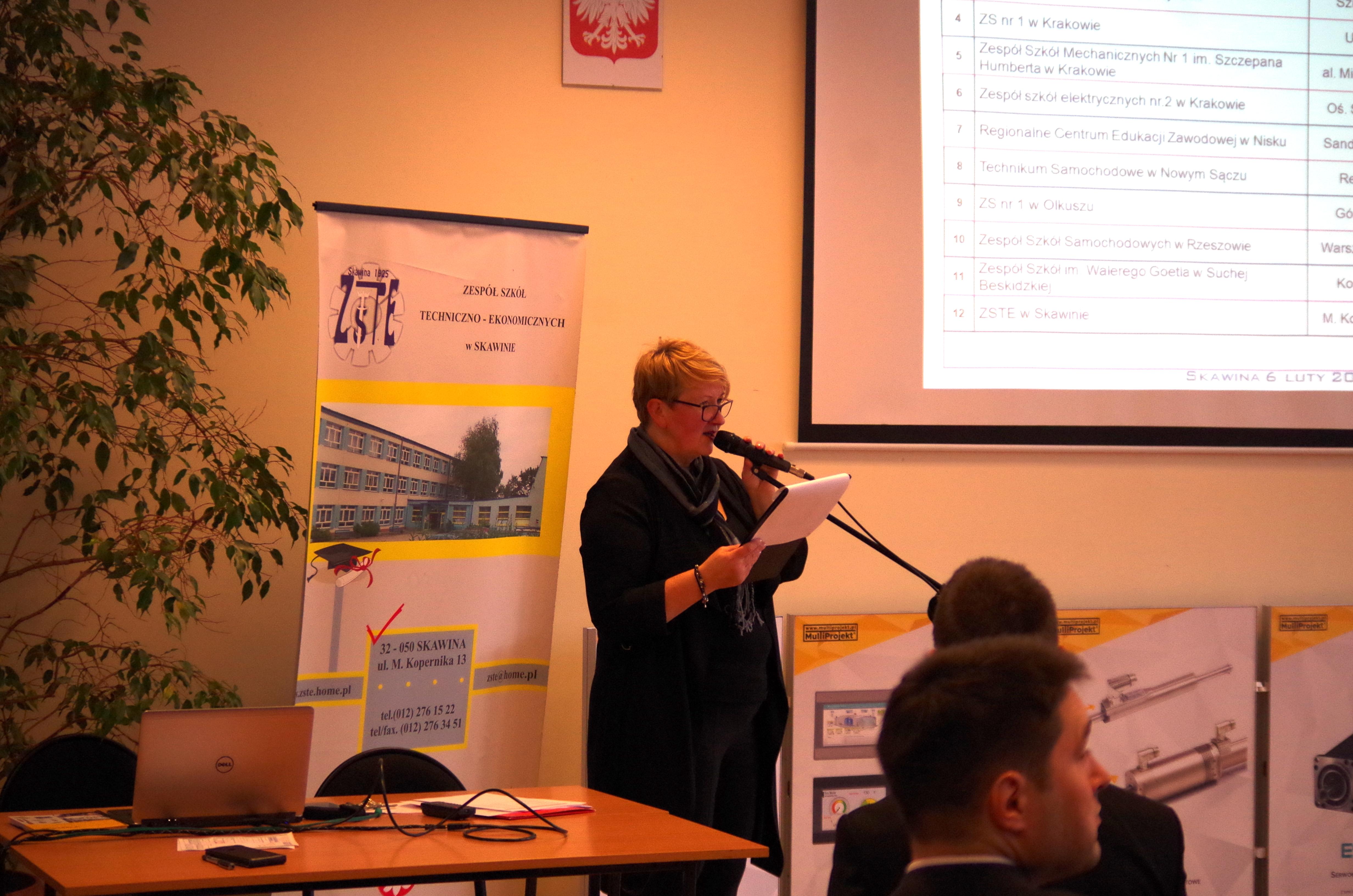 II Skawiński Turniej Wiedzy Mechatronicznej