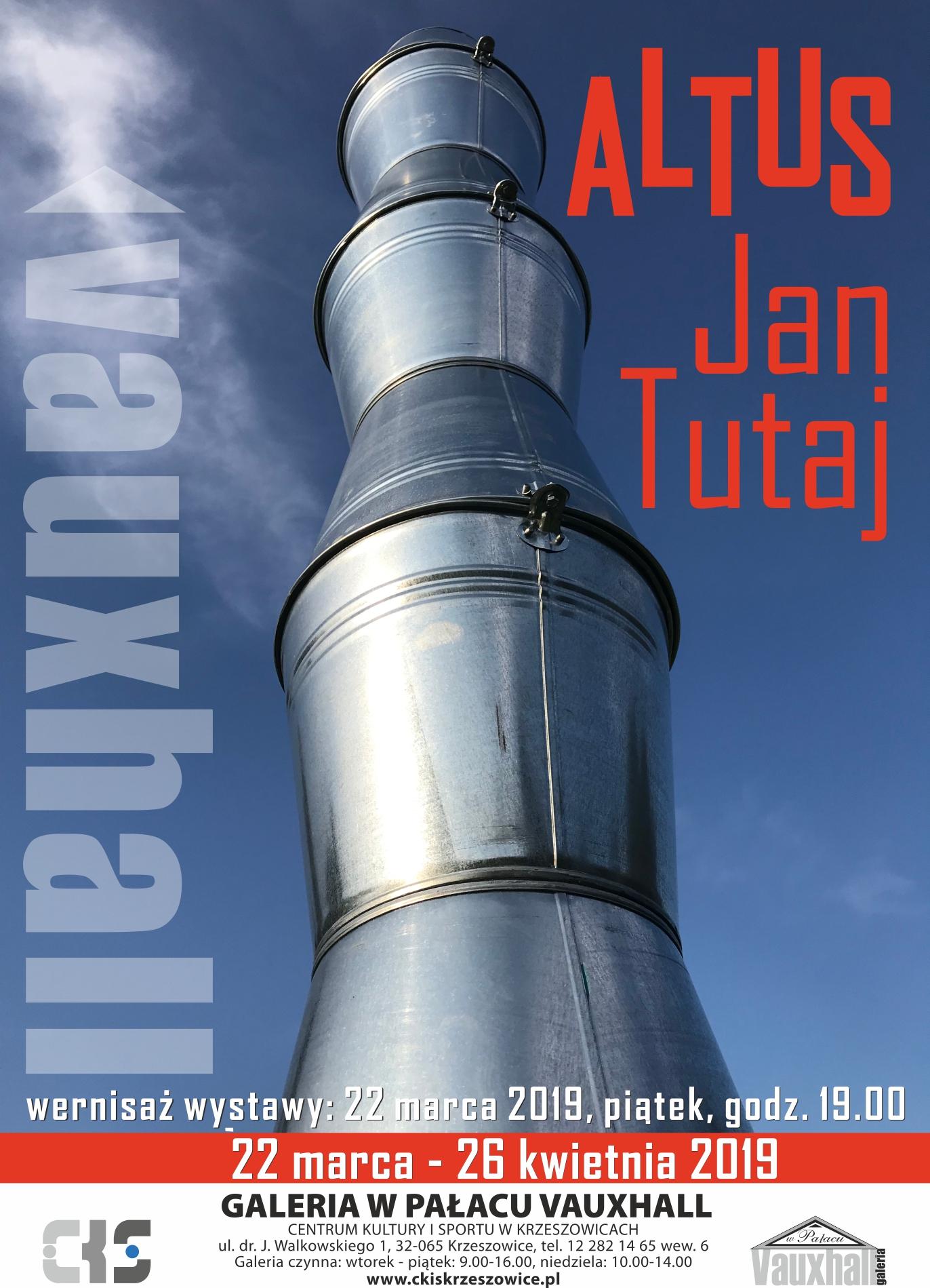 Altus Jan Tutaj - wernisaż wystawy @ Galeria w Pałacu Vauxhall | Krzeszowice | małopolskie | Polska