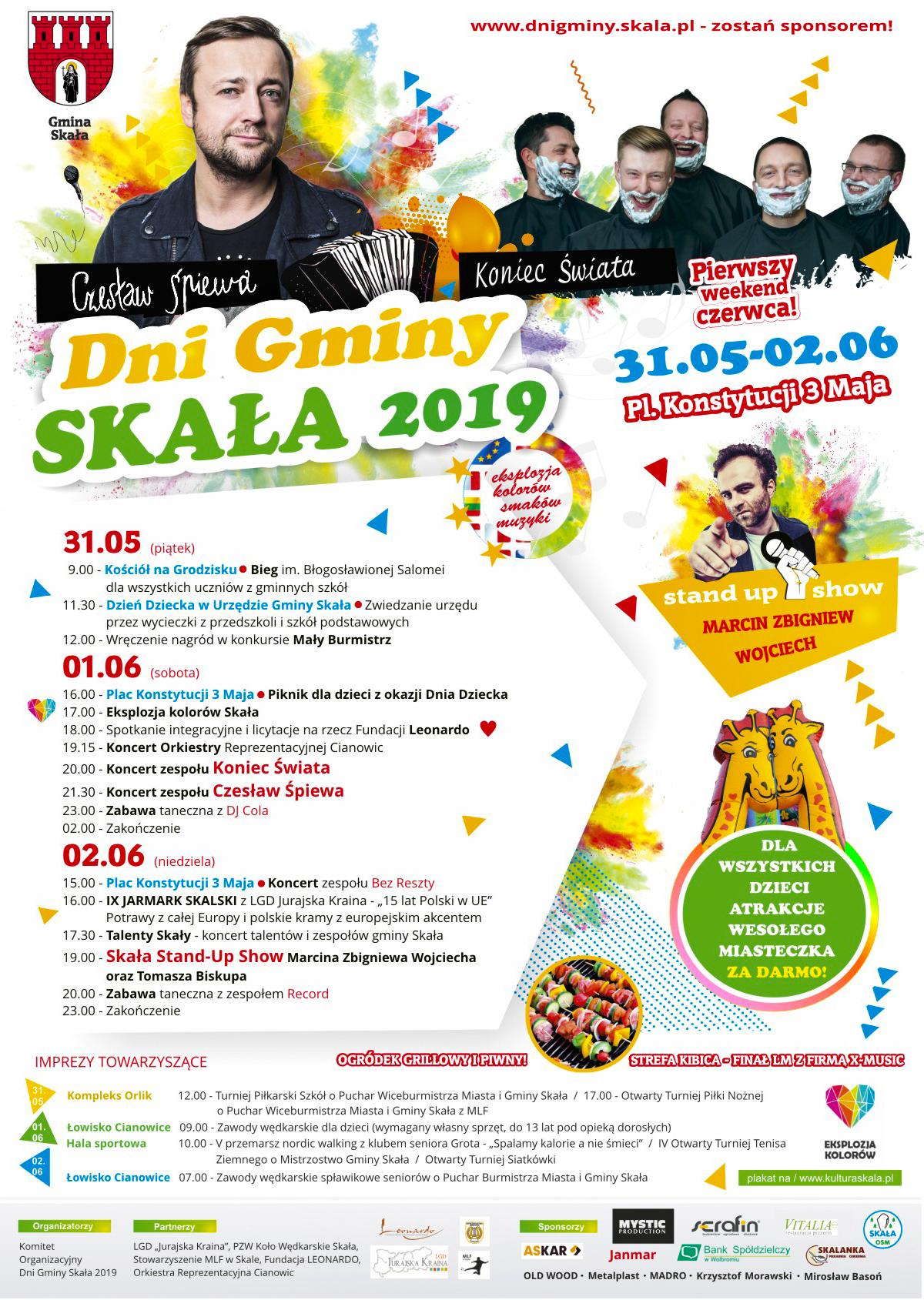 Dni Gminy Skała 2019 @ Skała | małopolskie | Polska