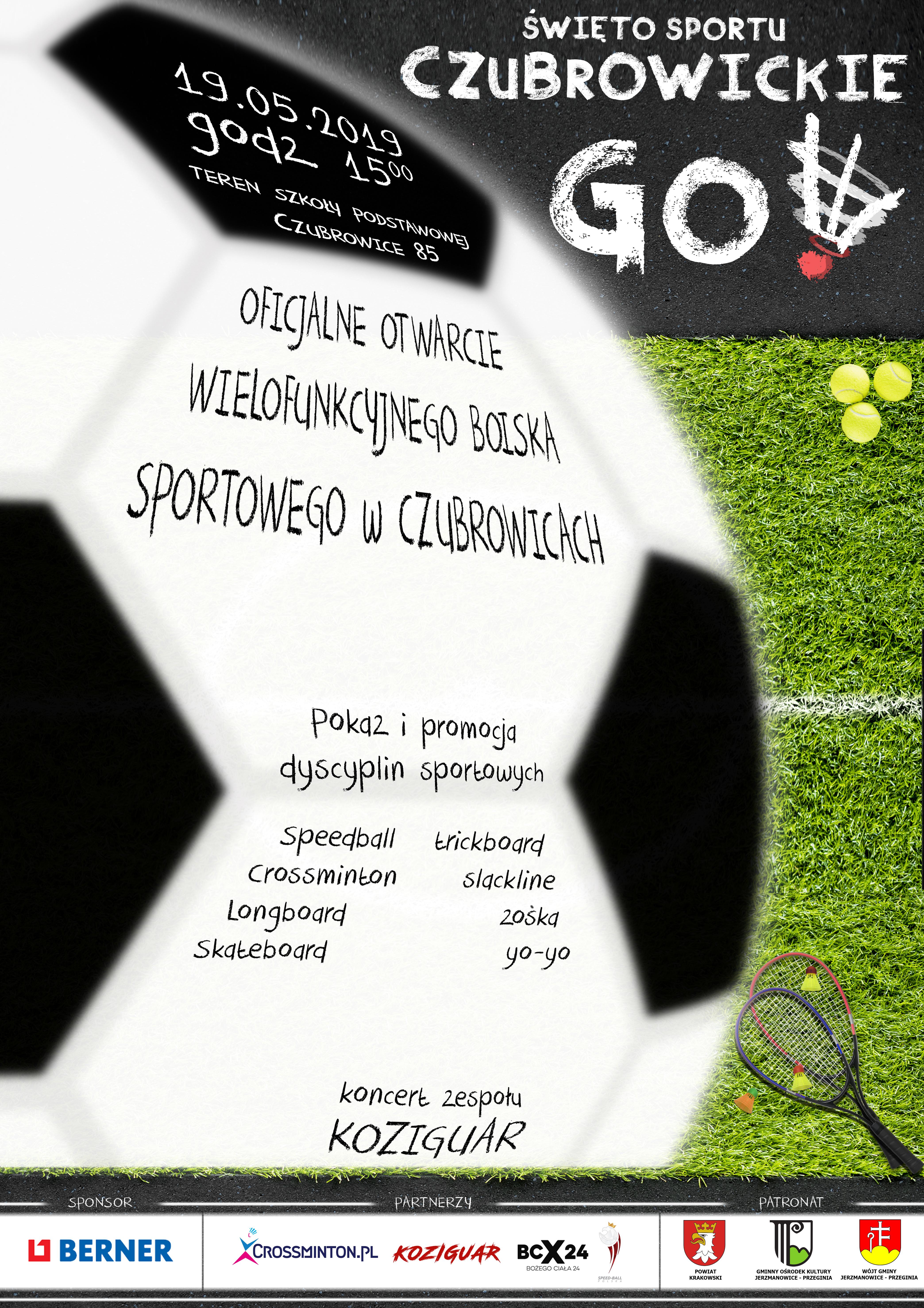 Święto Sportu Czubrowickiego! @ Szkoła Podstawowa w Czubrowicach | Czubrowice | małopolskie | Polska