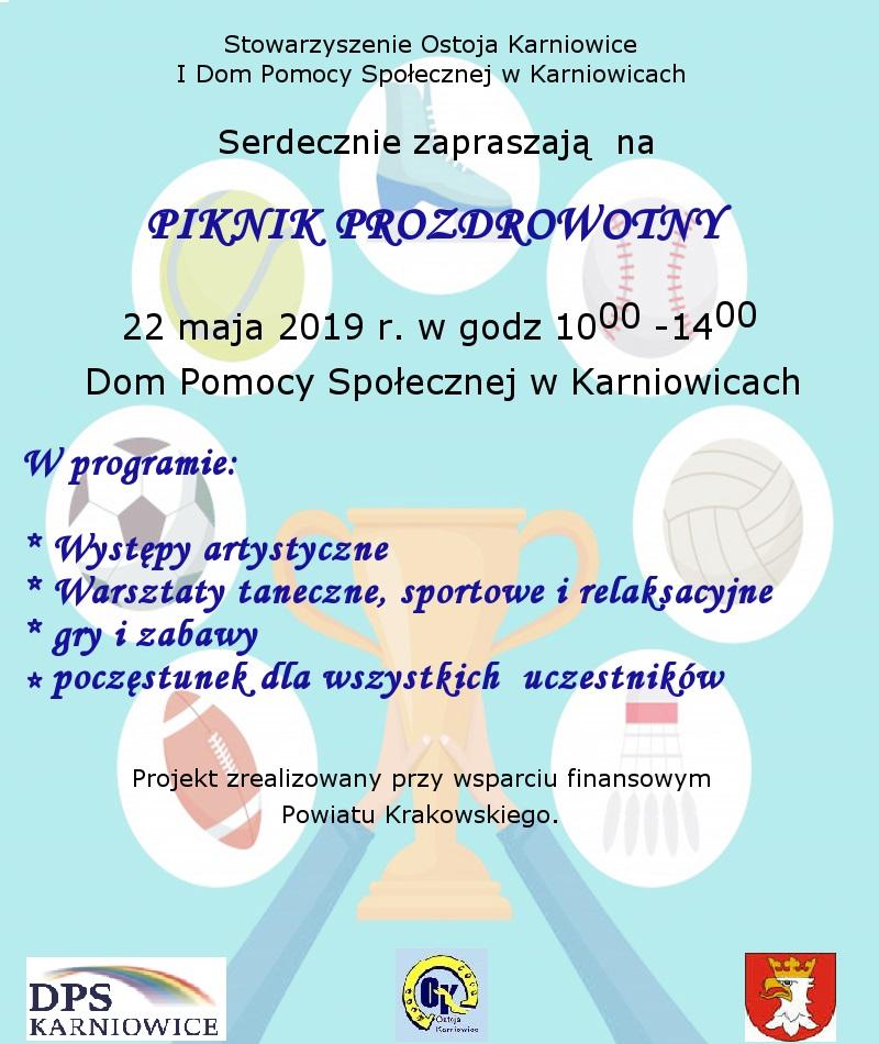 Piknik prozdrowotny @ DPS w Karniowicach | Polska