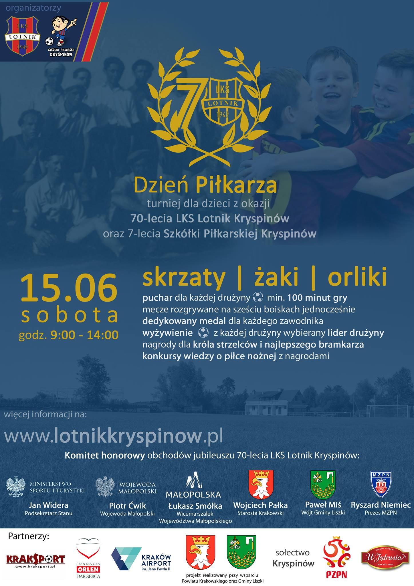Dzień Piłkarza @ LKS Lotnik Kryspinów | Kryspinów | małopolskie | Polska