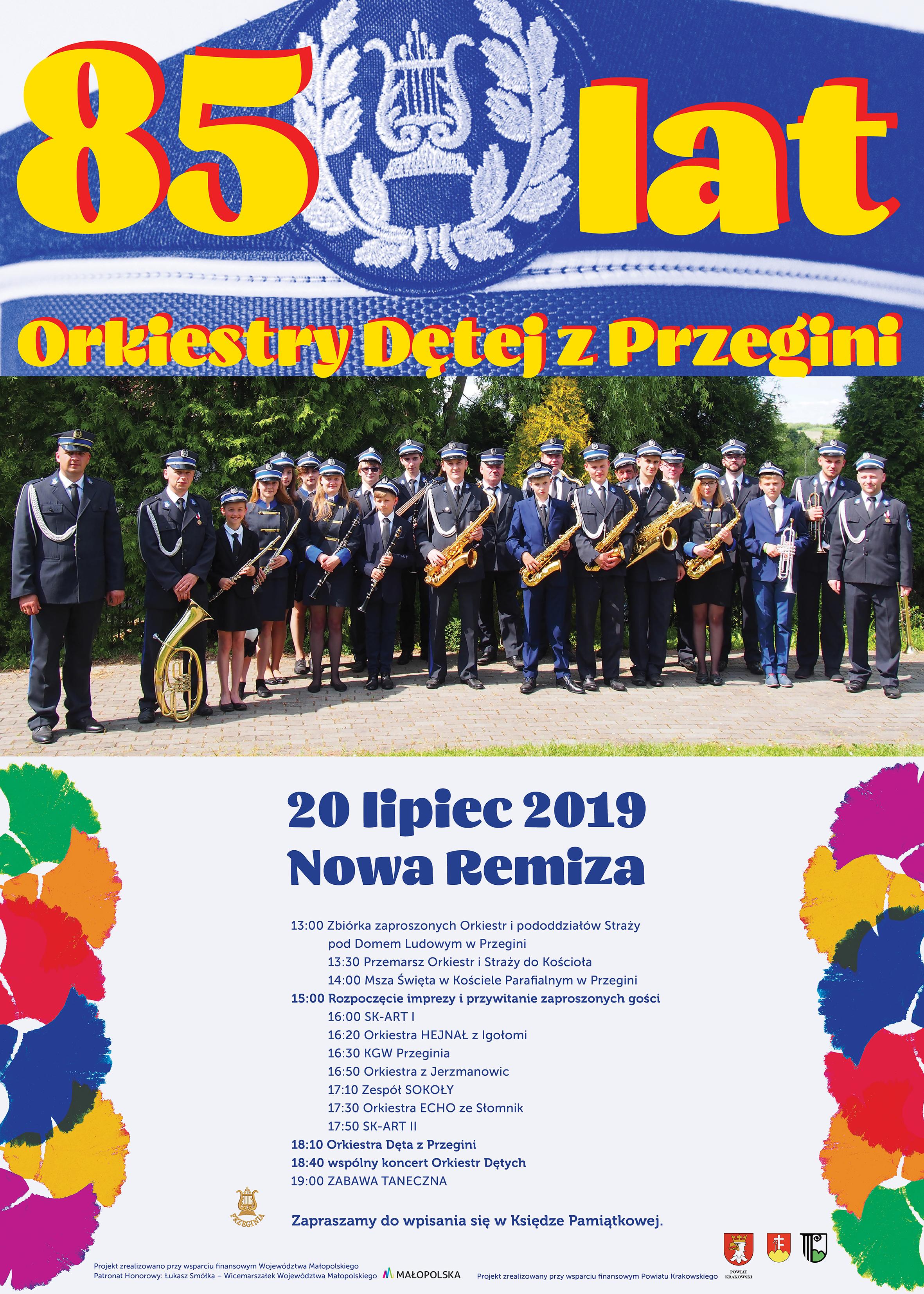 85-lat Orkiestry Dętej z Przegini @ Przeginia   małopolskie   Polska