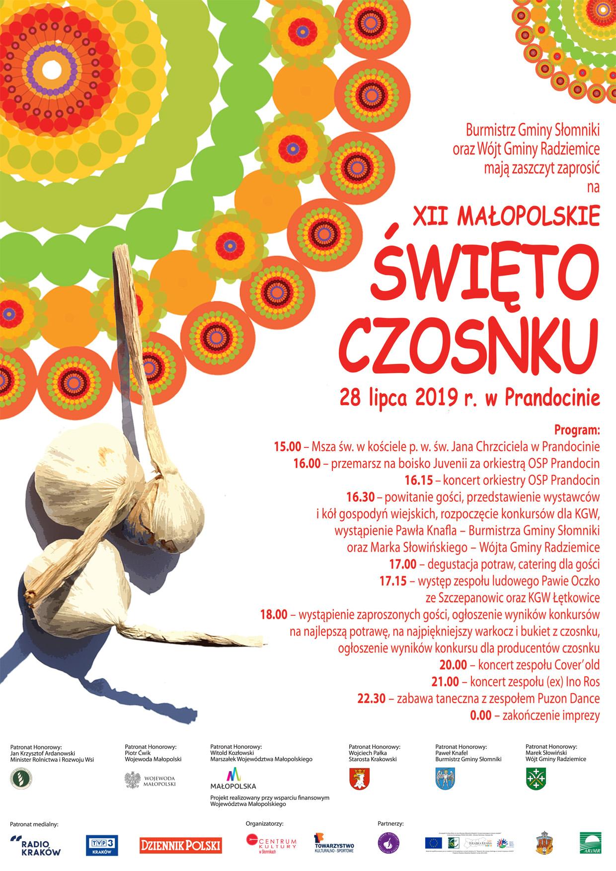 XII Małopolskie Święto Czosnku @ Prandocin | małopolskie | Polska
