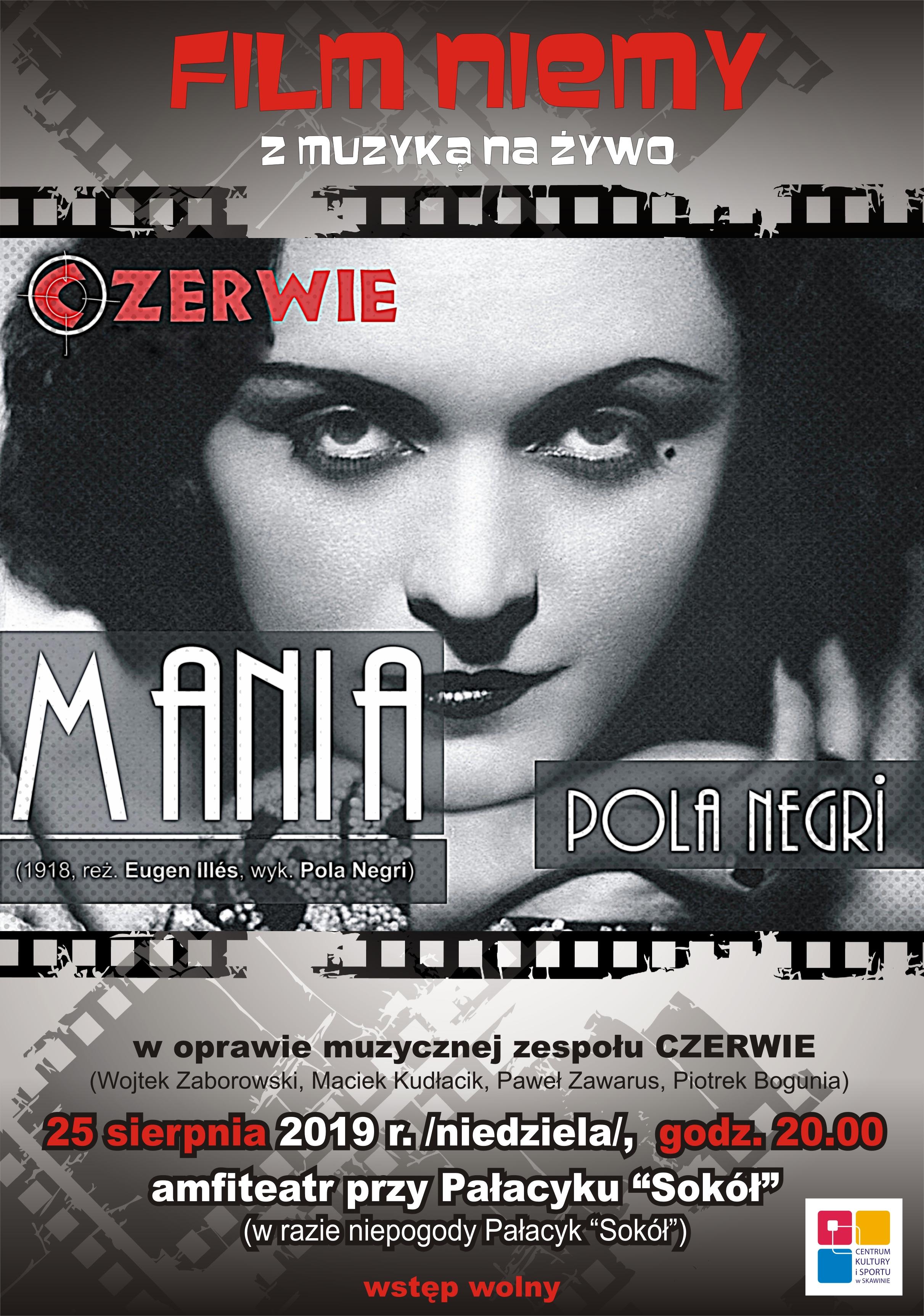Film Niemy z muzyką na żywo @ Amfiteatr przy Pałacyku Sokół | Skawina | małopolskie | Polska
