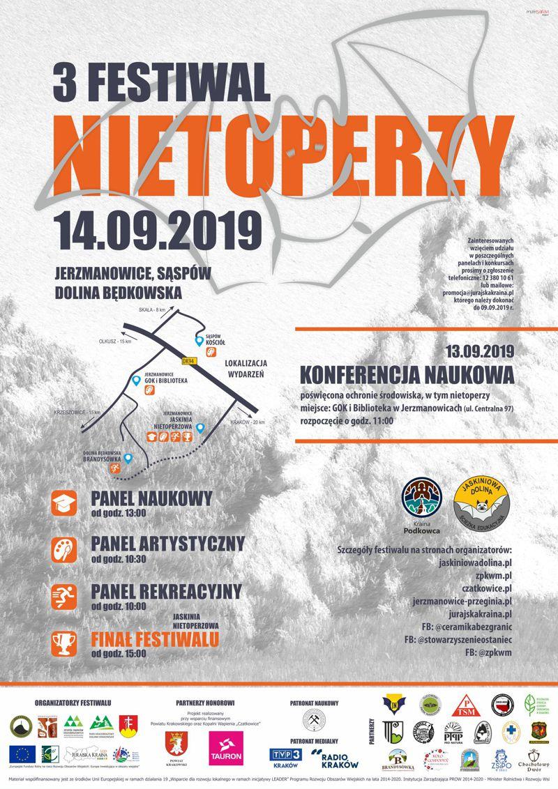 3 Festiwal Nietoperzy @ Jerzmanowice, Sąspów, Dolina Będkowska