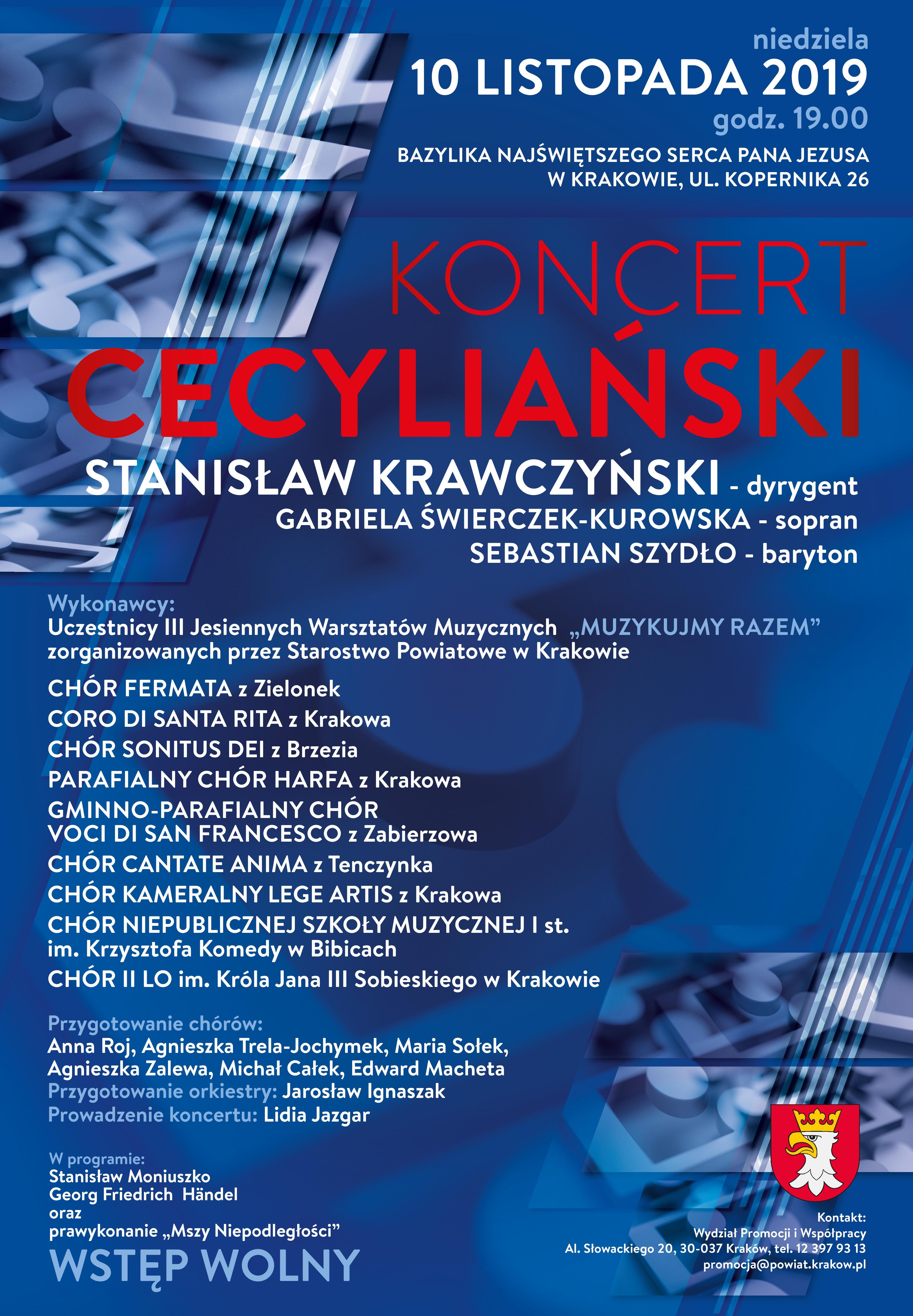 Koncert Cecyliański @ Kraków | małopolskie | Polska
