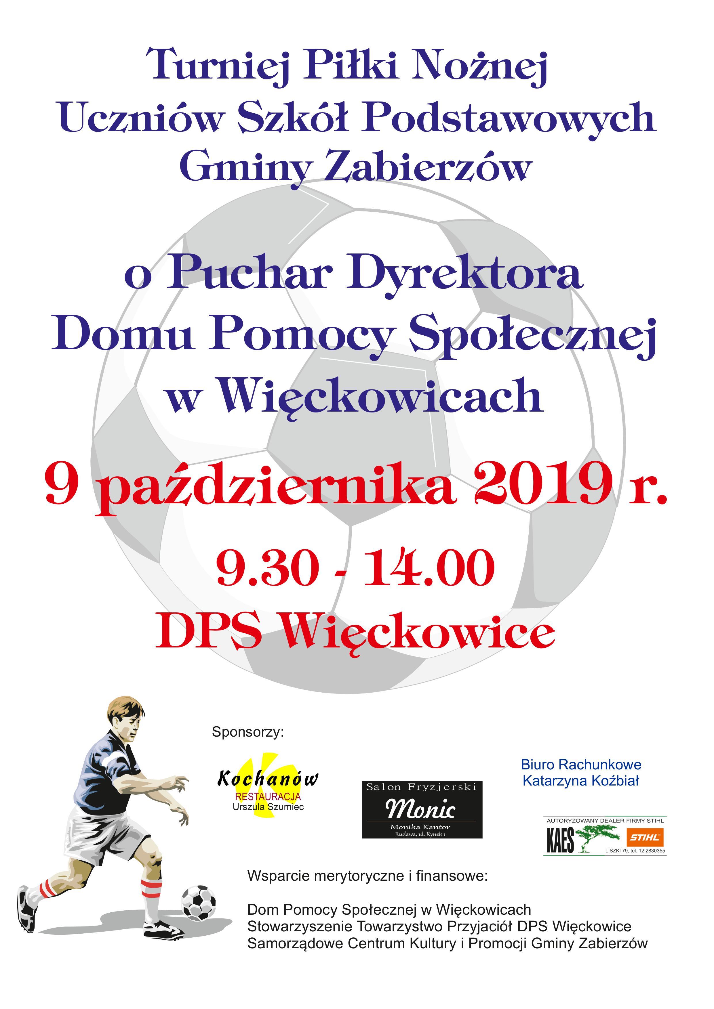 Turniej piłki nożnej @ Więckowice | małopolskie | Polska