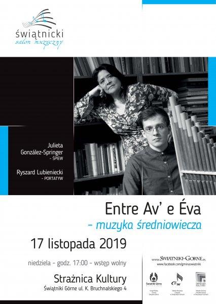 Koncert: Entre Av' e Eva - muzyka średniowiecza @ Strażnica Kultury | Świątniki Górne | małopolskie | Polska