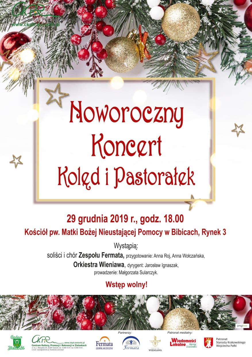 Noworoczny Koncert Kolęd i Pastorałek @ Kościół pw. Matki Bożej Nieustającej Pomocy w Bibicach | Bibice | małopolskie | Polska