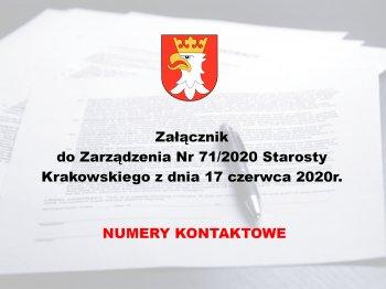 Załącznik do zarządzenia nr 71/2020 z dnia 17 czerwca 2020 roku - plik Microsoft Excel