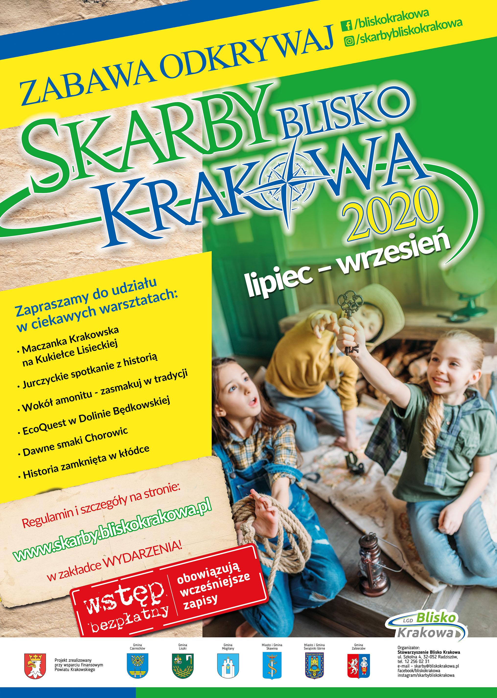 Zabawa Odkrywaj Skarby Blisko Krakowa