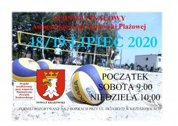 Turniej Finałowy Amatorskiej Ligi Siatkówki Plażowej @ Krzeszowice | Małopolskie | Polska