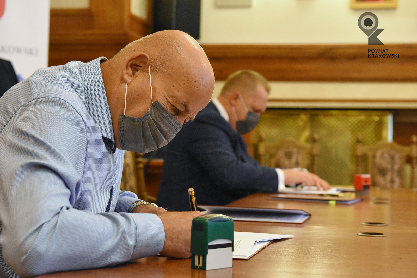 Podpisanie umowy w Starostwie Powiatowym w Krakowie 4