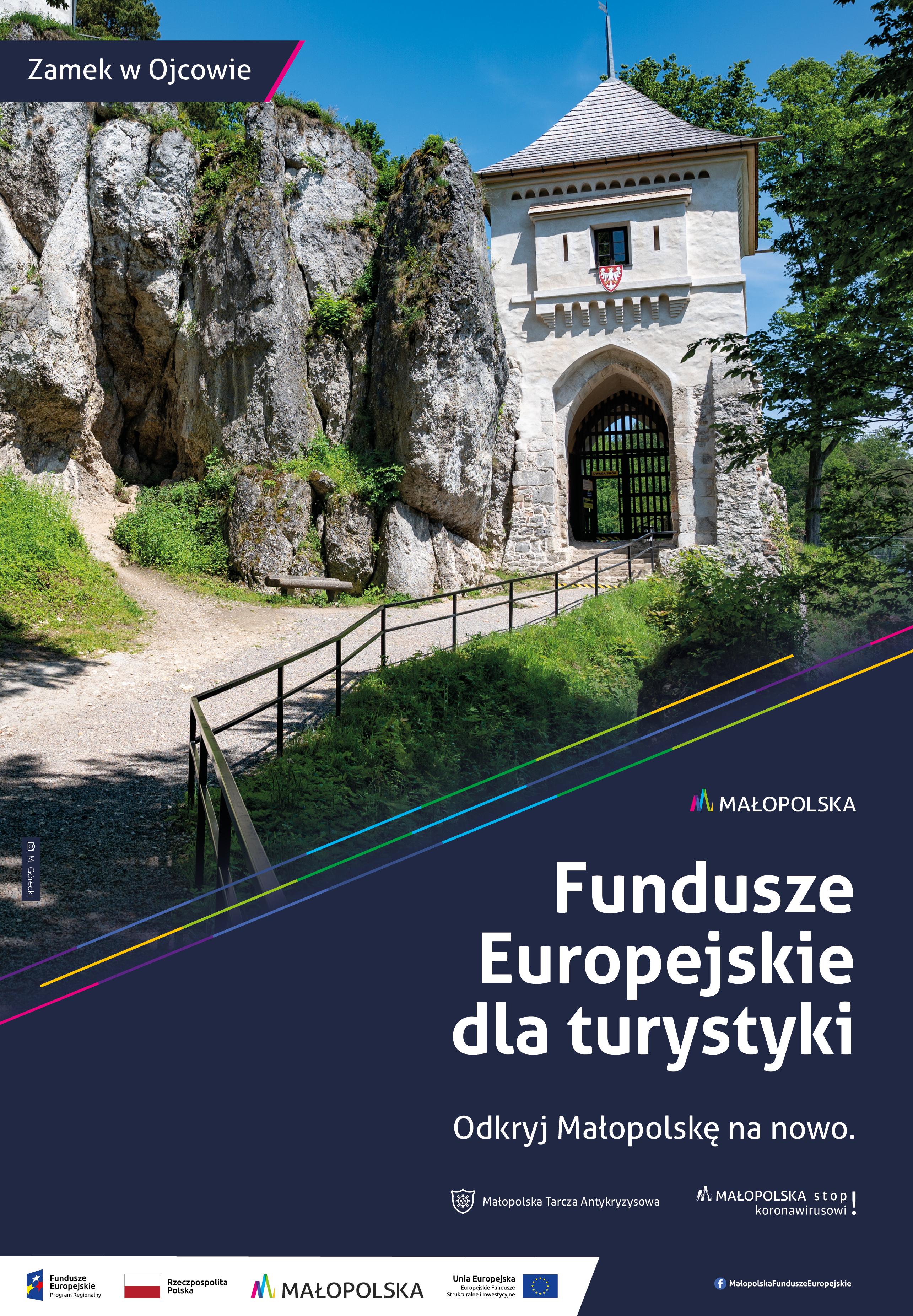Fundusze europejskie dla turystyki - zamek w Ojcowie