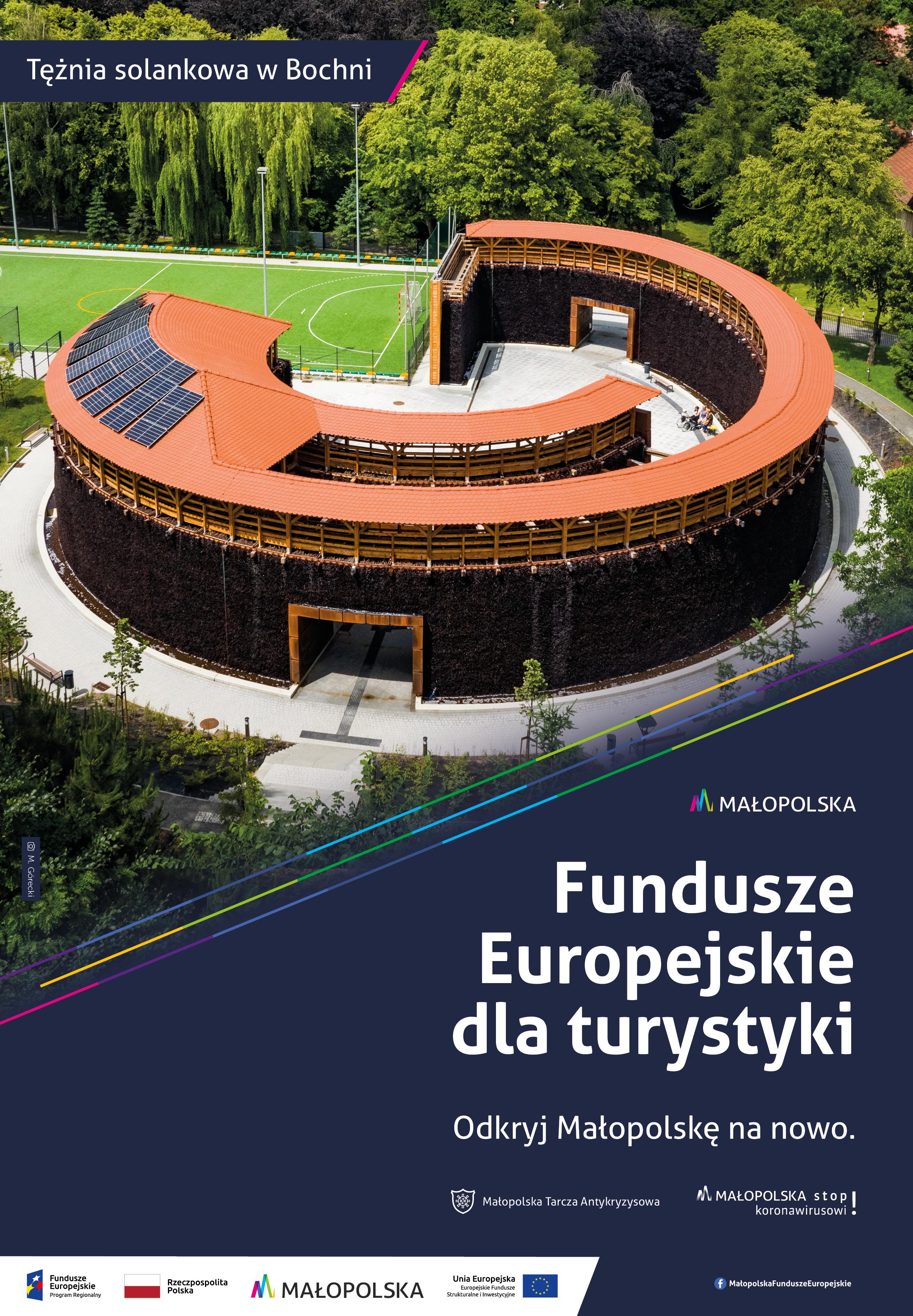 Fundusze europejskie dla turystyki - Tężnia solankowa w Bochni