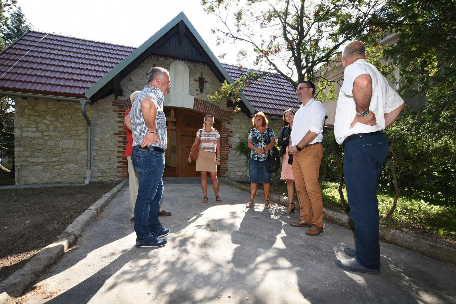 Odbiór budynku lamusa przy ZSRCKU w Czernichowie 4