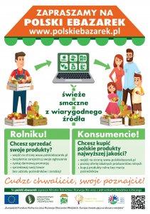 Plakat portalu www.polskiebazarek.pl