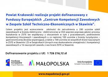 Plakat projektu Skawina I