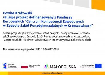 Plakat projektu Krzeszowice