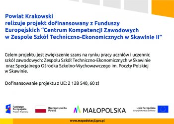Plakat projektu Skawina