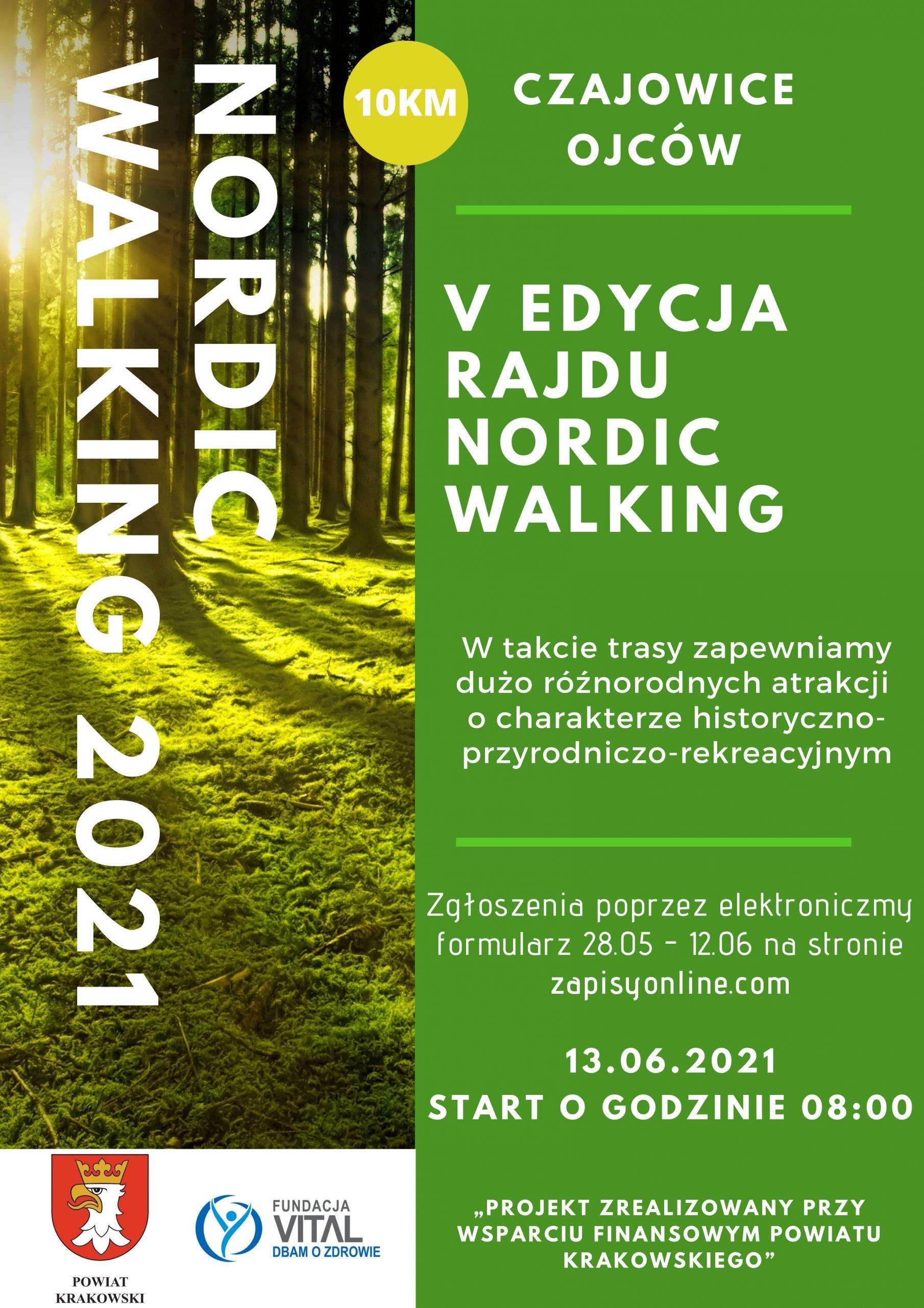 V Edycja Rajdu Nordic Walking