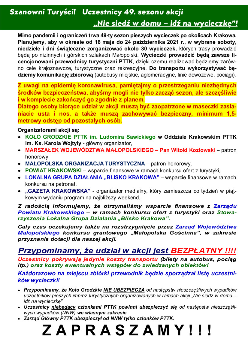 1 Program wycieczek (powyżej w pliku doc i pdf)