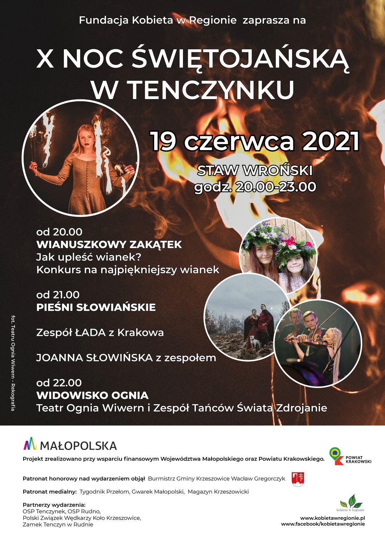 X Noc Świętojańska w Tenczynku