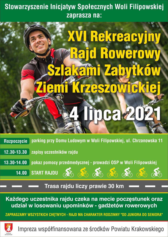 XVI Rekreacyjny Rajd Rowerowy Szlakami Zabytków Ziemi Krzeszowickiej