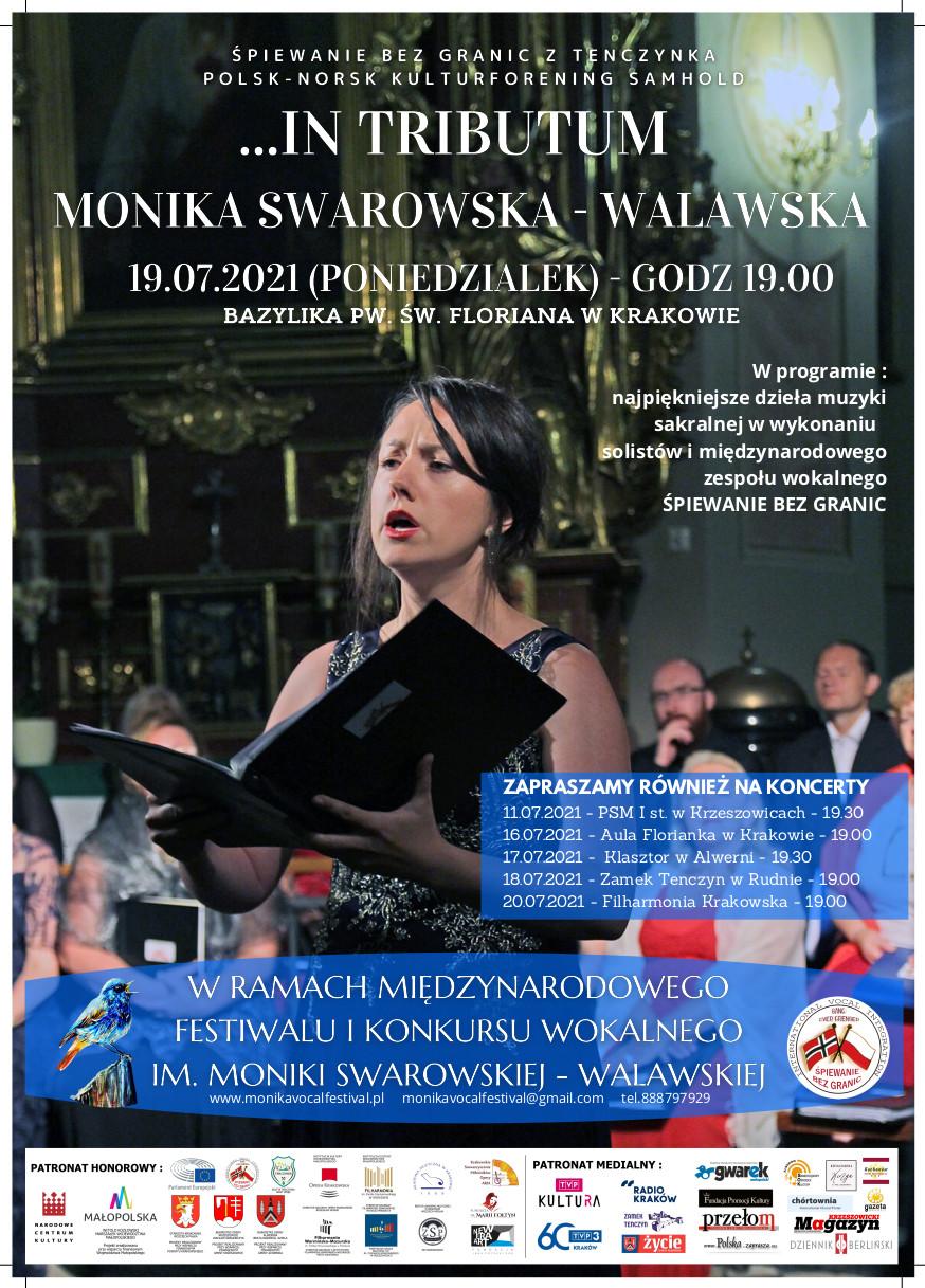 In Tributum - Międzynarodowy Festiwal i Konkurs Wokalny im. Moniki Swarowskiej-Walawskiej