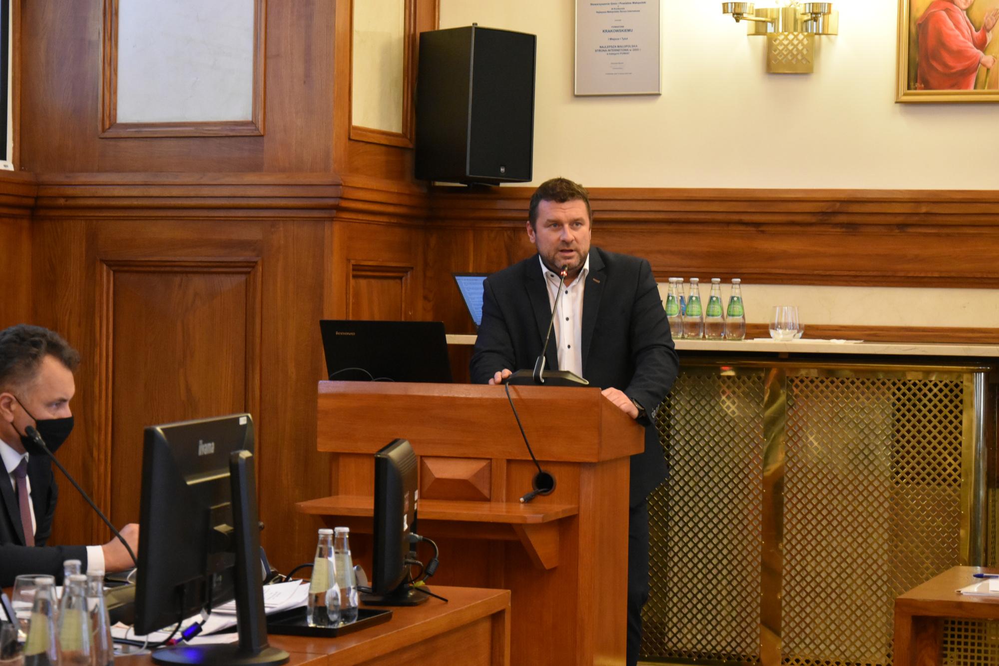 33 Sesja Rady Powiatu w Krakowie