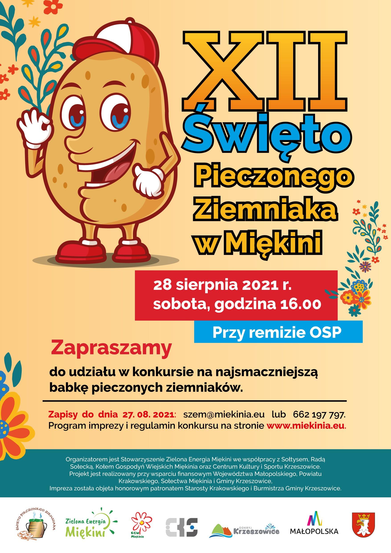 XII Święto Pieczonego Ziemniaka w Miękini